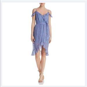 Joie Womens Dinesha Silk Cold Shoulder Dress